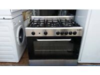 Stainless Steel 'Baumatic' Range Gas Cooker -Excellent condition(6 months old) / Free local delivery