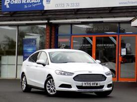 FORD MONDEO 1.6 TDCi STYLE ECONETIC 5dr 114 BHP * Sat Nav * ** (white) 2015