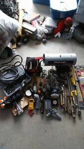 Tool collection up for sale with generators $500 for everything