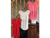 Maternity tops and dresses (XS, S, & 8)