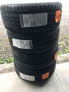 j ai 4 pneus continental 225-45-17 neuff 4 saisons