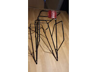 Bicycle pannier set; frame and two cycle pannier bags. Good condition.