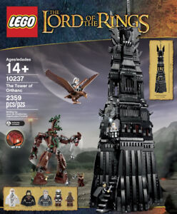 LEGO Tower of Orthanc Lord of the Rings 10237 Brand New Sealed