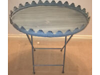 Shabby Chic Picnic Occasional Folding Table
