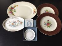 Collectible plates & platters