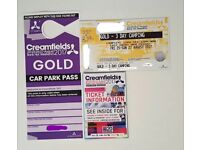 Creamfields 3 Day Camping Ticket (GOLD)