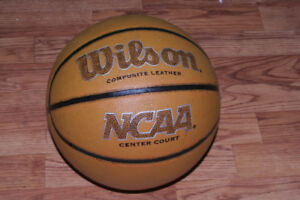 Basketball Wilson Composite Leather NCAA Center Court $15