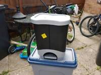 Double recycling bin