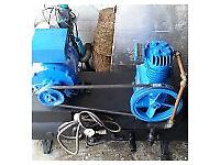 Broom wade air compressor