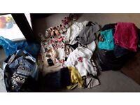 Large quantity of ladies modern size 8/10 clothes plus childrens