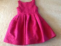 Age 4 red dress new