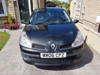 Renault Clio 1.2 Expression 16V MK 3 2006 £1,250 ONO.
