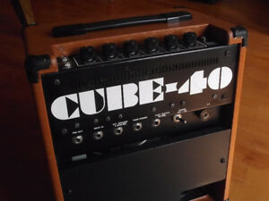 VINTAGE 1980'S ROLAND CUBE 40 ELECTRIC GUITAR AMPLIFIER,40 WATTS