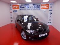 BMW 118d M SPORT (£30.00 ROAD TAX) FREE MOT'S AS LONG AS YOU OWN THE CAR!!! (black) 2011