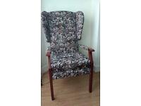 retro vintage armchair