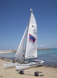 For Sale  18 Foot Hobie Cat Catamaran