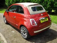 Fiat 500c 1.2 Lounge PETROL MANUAL 2010/60