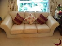 Sofa Suite (3 seater, 2 seater & footstool)