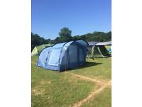 Easycamp Boston 400 Tent with carpet and footprint