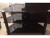 Stylish Glass television stand