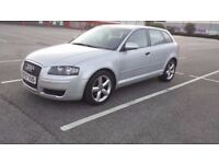Audi A3 TDI ,2008, Diesel,1.9,HPI clear, New MOT,Only 38000 miles,5 doors,tax one year £31.50