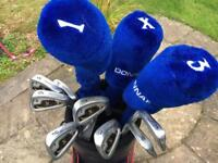 Donnay Golf Clubs and trolley