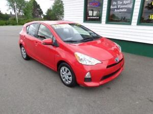 2012 Toyota Prius C for only $139 bi-weekly all in!