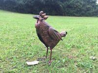 Chicken garden ornament