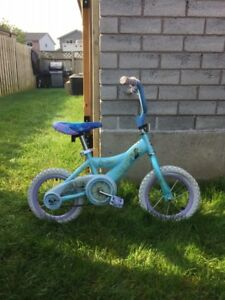 "Girls 12"" Frozen Bike"