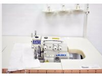 Genuine JUKI MO-6804S 3 Thread Overlock Industrial Sewing Machine