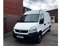 ** VAUXHALL MOVANO MWB 2.5 CDTI VAN SPARES OR REPAIR, NEEDS GEARBOX, ONLY GOES INTO FIRST NO VAT**