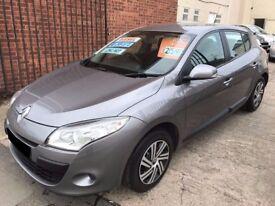 Renault Megane 1.5 dCi Expression 5dr - 2010, 2 Owner, 12 Months MOT, £30 Road Tax, Serviced, £2495