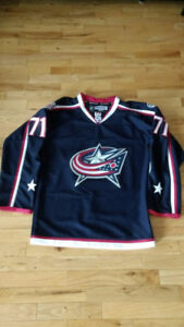 COLUMBUS BLUE JACKETS Jersey Nick Foligno Size Small