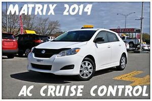 2014 Toyota Matrix AC CRUISE CONTROL
