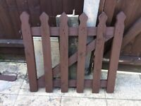Small Wooden Gate.
