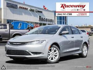 2016 Chrysler 200 LIMITED   8.4' TOUCHSCREEN   HEATED STEERING  
