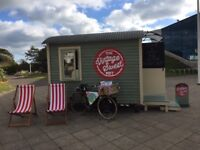 Fully mobile walk in sweet shop offering a unique nostalgic pop-up experience