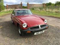 MG BGT - PRICE REDUCED AS CAR MUST GO