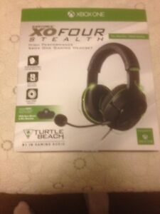 X Box One headphones and games