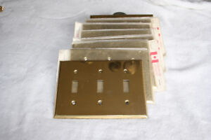 Brass Switch Plate Covers