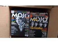 Mojo magazine collection plus cover CDs (more than 5 years worth)