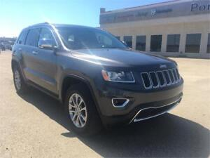 2014 Jeep Grand Cherokee Limited Low Km's. Leather Seats
