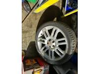 MG ZT Allow Wheel Set Four 18 Inches Tyre
