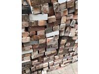 Reclaimed bricks pre 1930