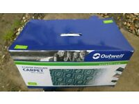 Outwell Harrier XL Carpet used