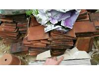 Bricks and roof tiles
