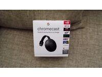 Brand new unopened Chromecast