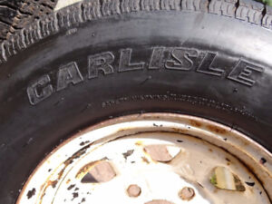 THREE TRAILER TIRES FOR SALE