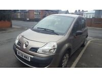 Renault Grand Modus, very low mileage, good family car.