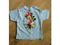 Disneyland Paris girls tshirt age 24 months